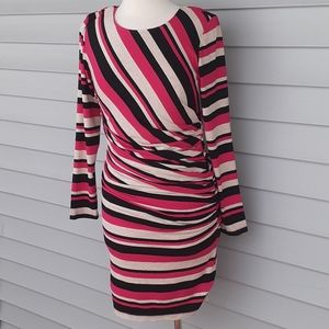 Sara Campbell long sleeve bodycon dress
